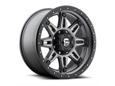 Fuel Wheels Hostage III Gun Metal 6-Lug Wheel - 20x9 (04-18 F-150)