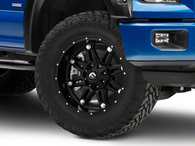 Fuel Wheels Hostage Matte Black 6-Lug Wheel - 20x10 (04-19 F-150)