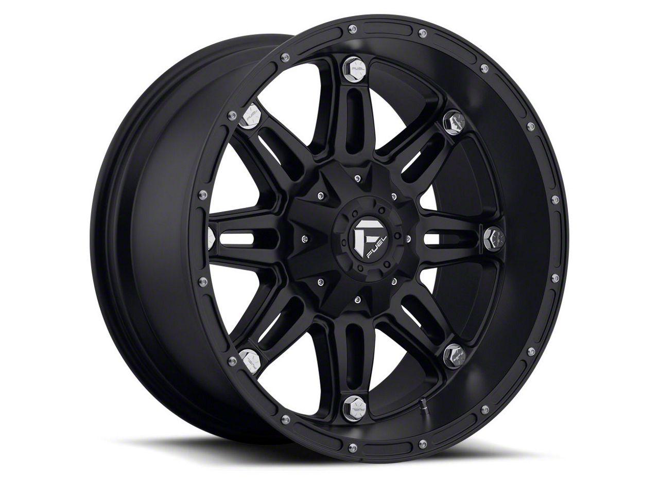Fuel Wheels Hostage Matte Black 6-Lug Wheel - 20x14 (04-18 F-150)