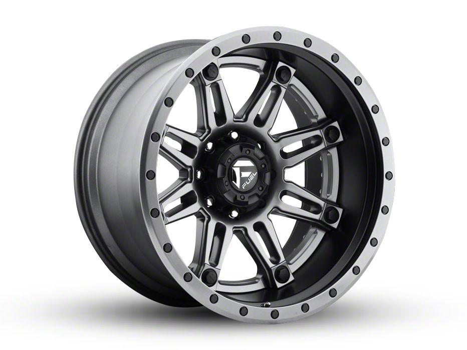 Fuel Wheels Hostage Matte Black 6-Lug Wheel - 22x10 (04-19 F-150)