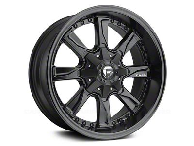 Fuel Wheels Hydro Matte Black 6-Lug Wheel - 17x8.5 (04-18 F-150)