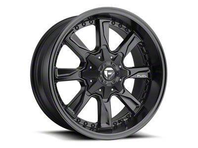 Fuel Wheels Hydro Matte Black 6-Lug Wheel - 18x9 (04-18 F-150)