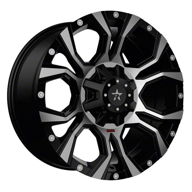 RBP 64R Widow Black Machined 6-Lug Wheel - 20x10 (04-19 F-150)