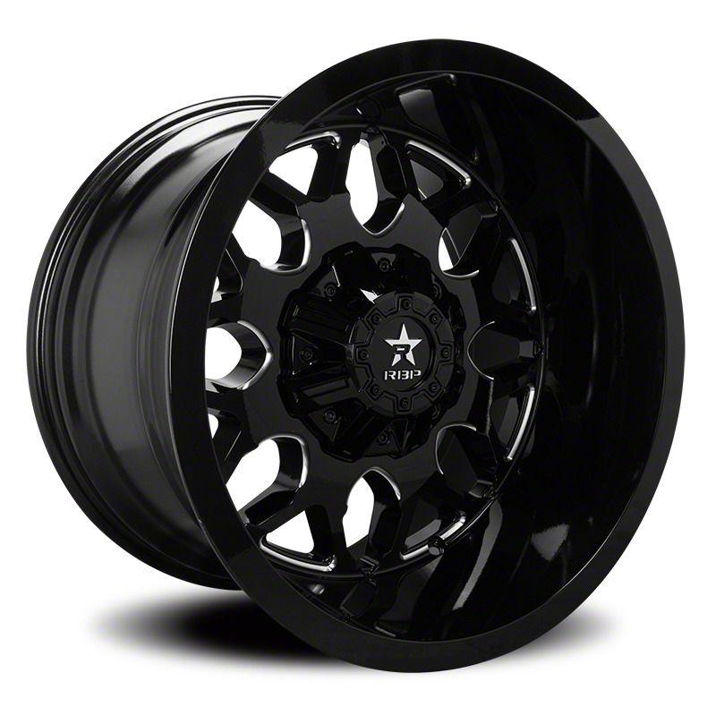 RBP 73R Atomic Gloss Black w/ Machined Grooves 6-Lug Wheel - 20x10 (04-19 F-150)