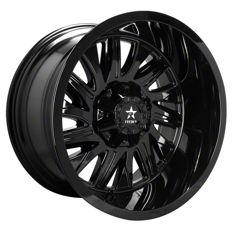 RBP 75R Batallion Gloss Black 6-Lug Wheel - 20x9 (04-19 F-150)