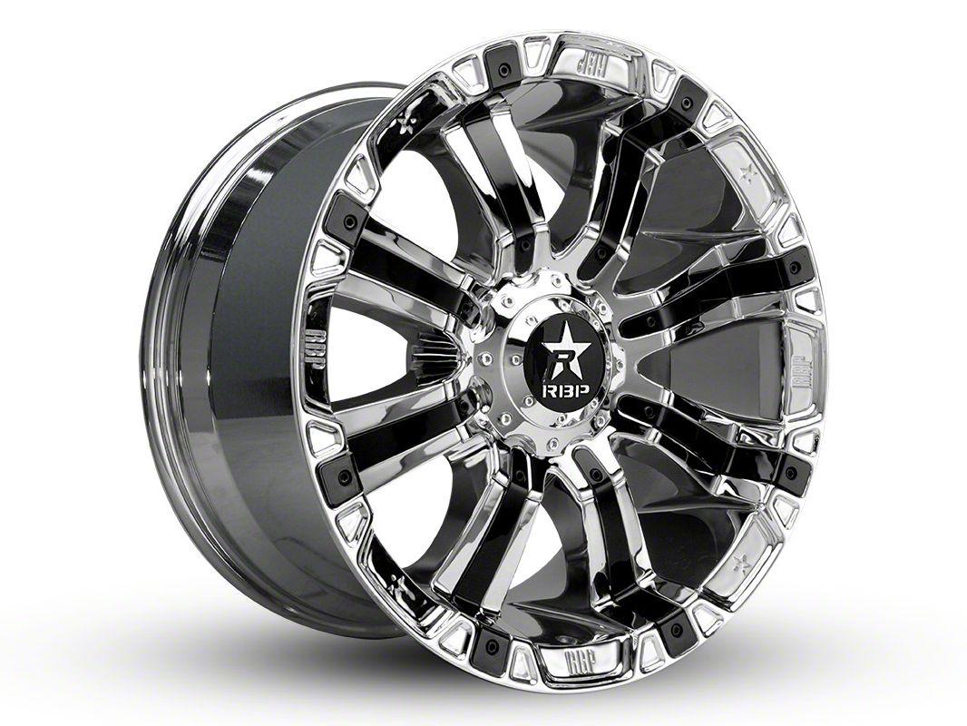 RBP 94R Chrome w/ Black Inserts 6-Lug Wheel - 17x9 (04-19 F-150)