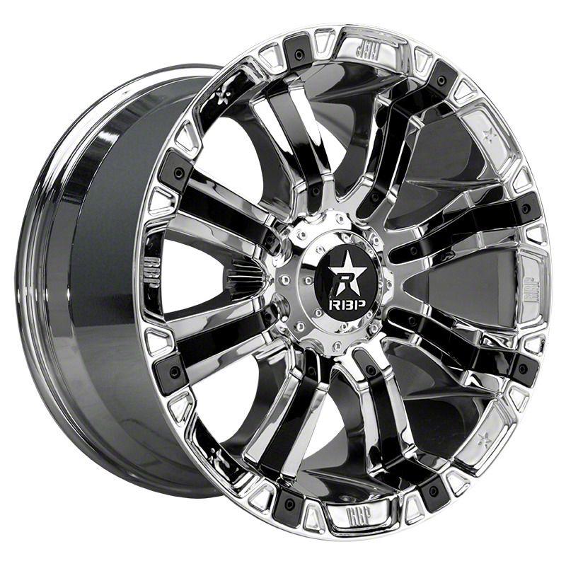 RBP 94R Chrome w/ Black Inserts 6-Lug Wheel - 18x10 (04-19 F-150)
