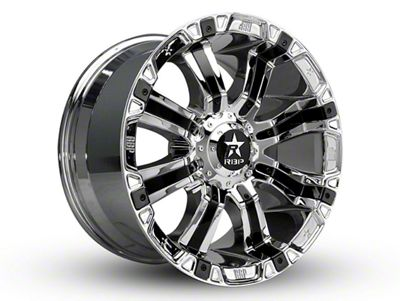 RBP 94R Chrome w/ Black Inserts 6-Lug Wheel - 18x9 (04-18 F-150)