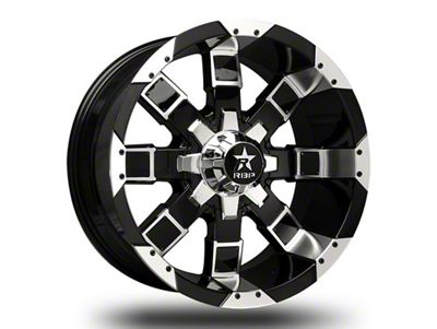 RBP 95R Black w/ Chrome Inserts 6-Lug Wheel - 20x10 (04-18 F-150)