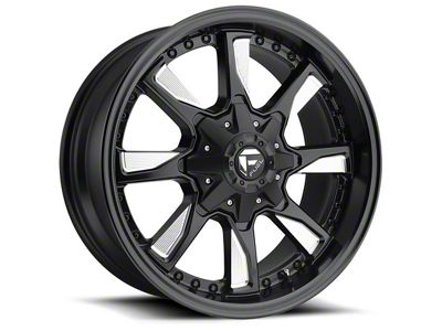 Fuel Wheels Hydro Matte Black Milled 6-Lug Wheel - 17x8.5 (04-18 F-150)