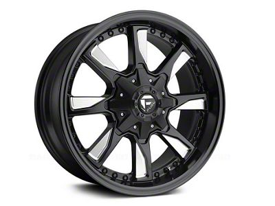 Fuel Wheels Hydro Matte Black Milled 6-Lug Wheel - 18x9 (04-18 F-150)