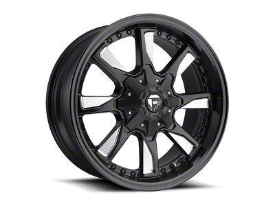 Fuel Wheels Hydro Matte Black Milled 6-Lug Wheel - 20x9 (04-18 F-150)