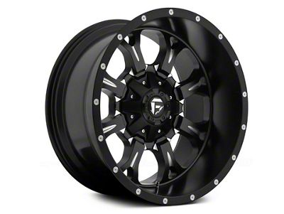 Fuel Wheels Krank Black Milled 6-Lug Wheel - 18x9 (04-19 F-150)