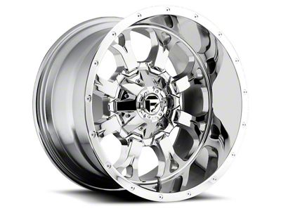 Fuel Wheels Krank Chrome 6-Lug Wheel - 20x12 (04-18 F-150)