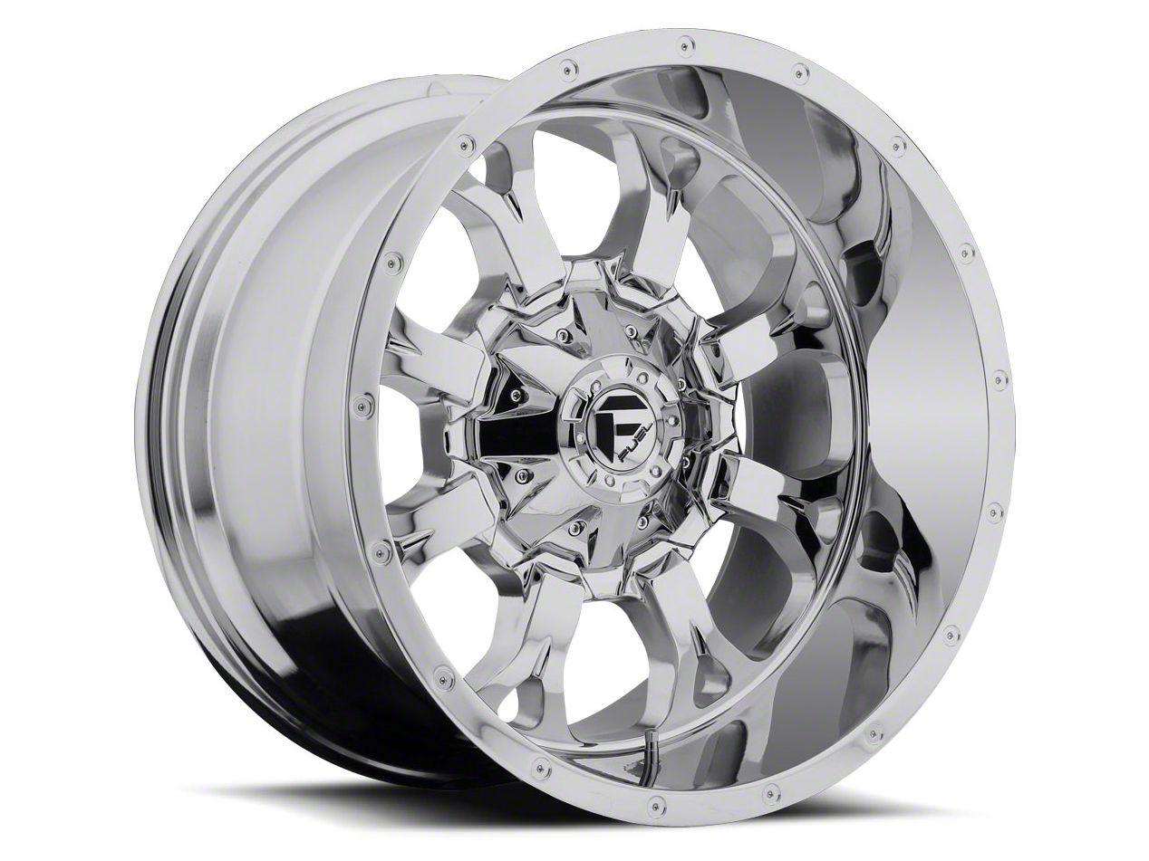 Fuel Wheels Krank Chrome 6-Lug Wheel - 22x11 (04-18 F-150)