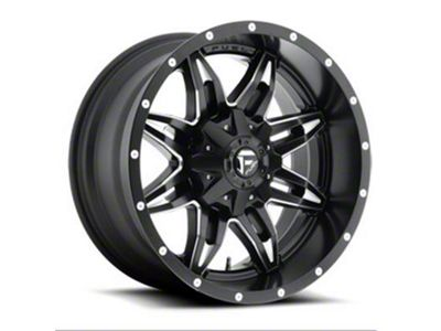 Fuel Wheels Lethal Black Milled 6-Lug Wheel - 18x9 (04-18 F-150)