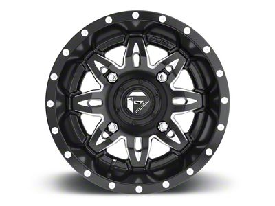 Fuel Wheels Lethal Black Milled 6-Lug Wheel - 20x10 (04-18 F-150)