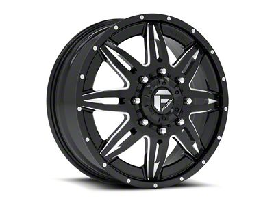 Fuel Wheels Lethal Black Milled 6-Lug Wheel - 22x12 (04-18 F-150)