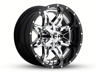 Fuel Wheels Lethal Chrome 6-Lug Wheel - 20x10 (04-19 F-150)