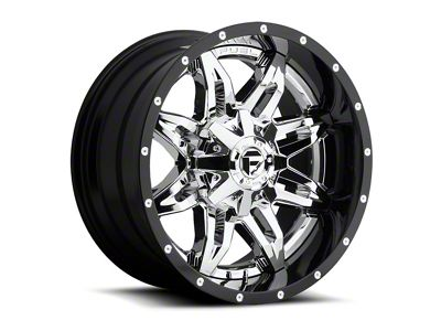 Fuel Wheels Lethal Chrome 6-Lug Wheel - 20x12 (04-18 F-150)