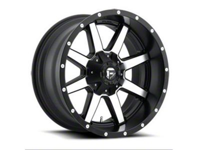Fuel Wheels Maverick Black Machined 6-Lug Wheel - 20x12 (04-18 F-150)
