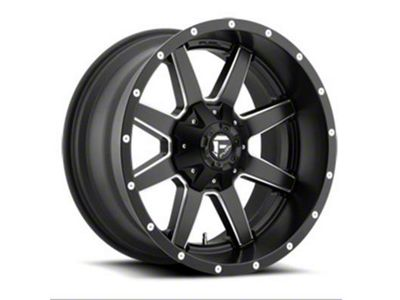 Fuel Wheels Maverick Black Milled 6-Lug Wheel - 17x9 (04-18 F-150)