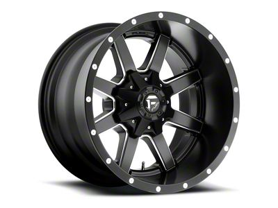Fuel Wheels Maverick Black Milled 6-Lug Wheel - 18x12 (04-18 F-150)