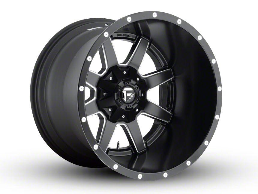 Fuel Wheels Maverick Black Milled 6-Lug Wheel - 24x10 (04-18 F-150)