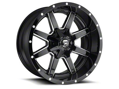 Fuel Wheels Maverick Gloss Black Milled 6-Lug Wheel - 17x9 (04-18 F-150)