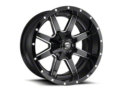 Fuel Wheels Maverick Gloss Black Milled 6-Lug Wheel - 18x9 (04-18 F-150)
