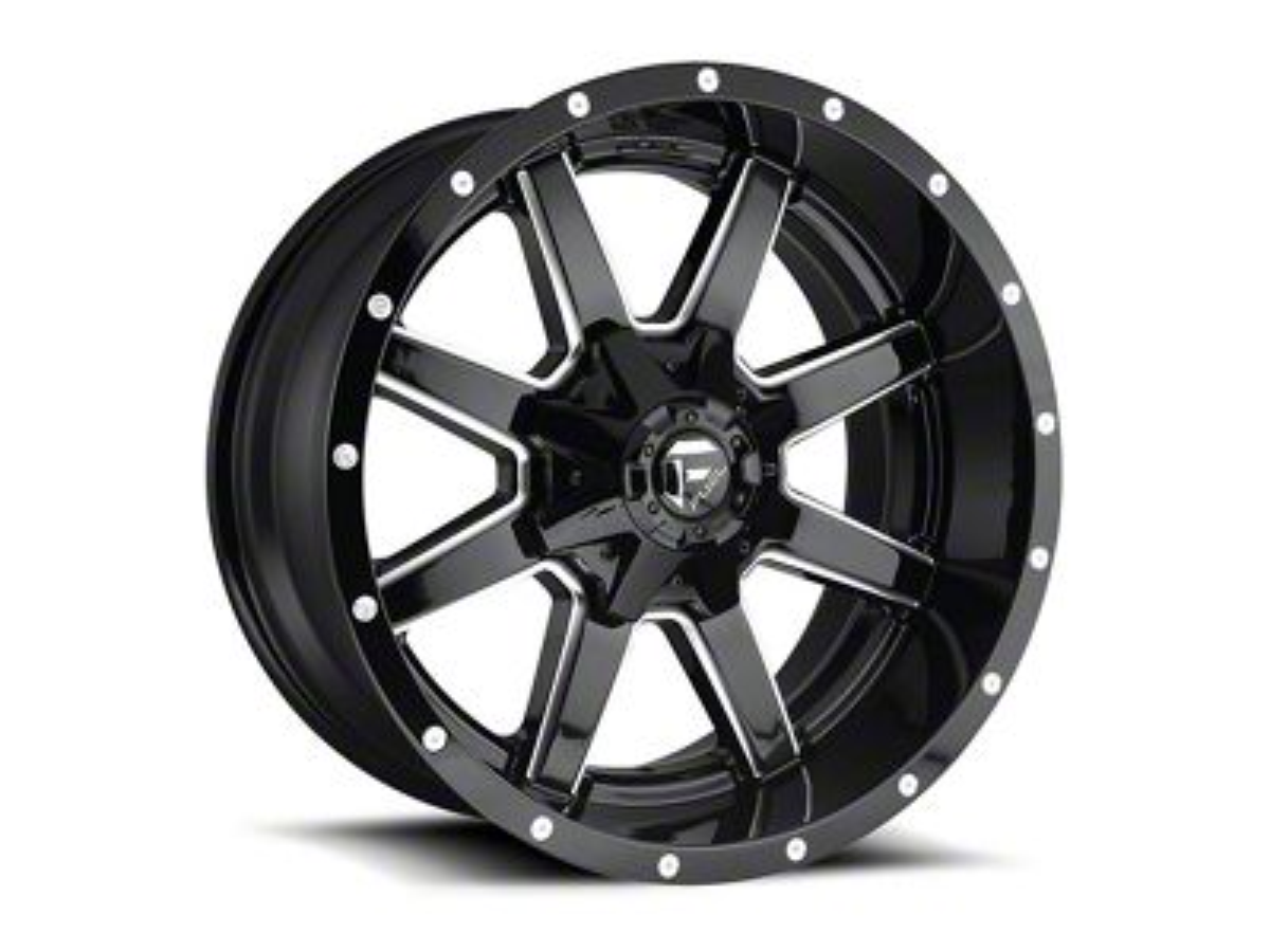 Fuel Wheels Maverick Gloss Black Milled 6-Lug Wheel - 20x12 (04-18 F-150)