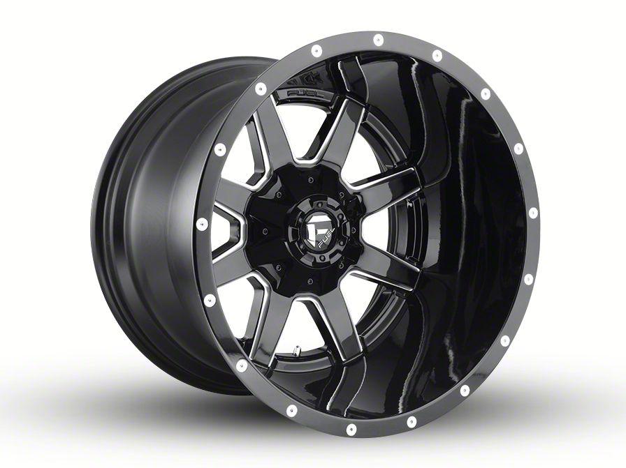 Fuel Wheels Maverick Gloss Black Milled 6-Lug Wheel - 20x14 (04-18 F-150)