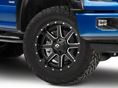 Fuel Wheels Maverick Gloss Black Milled 6-Lug Wheel - 20x9 (04-18 F-150)
