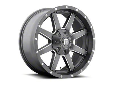 Fuel Wheels Maverick Gun Metal 6-Lug Wheel - 20x10 (04-18 F-150)