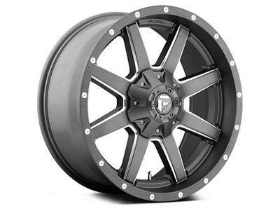 Fuel Wheels Maverick Gun Metal 6-Lug Wheel - 20x9 (04-18 F-150)
