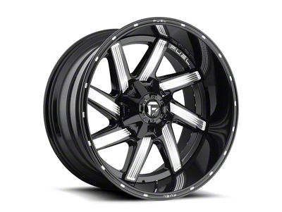 Fuel Wheels Moab Gloss Black Milled 6-Lug Wheel - 20x9 (04-18 F-150)
