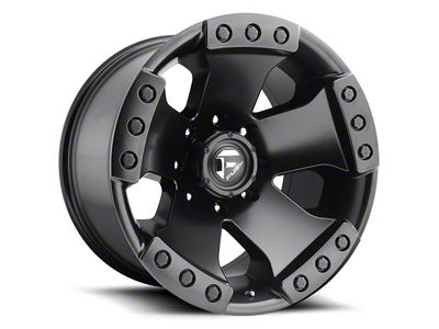 Fuel Wheels Monsta Matte Black 6-Lug Wheel - 17x9 (04-18 F-150)