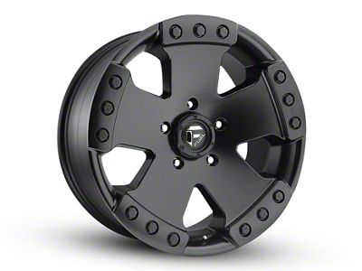 Fuel Wheels Monsta Matte Black 6-Lug Wheel - 20x9 (04-18 F-150)
