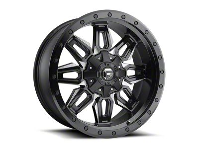 Fuel Wheels Neutron Matte Black Milled 6-Lug Wheel - 20x9 (04-18 F-150)