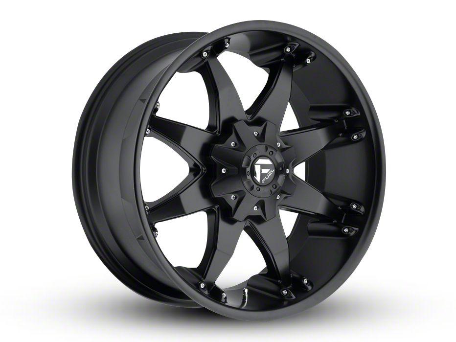 Fuel Wheels Octane Matte Black 6-Lug Wheel - 22x10 (04-18 F-150)