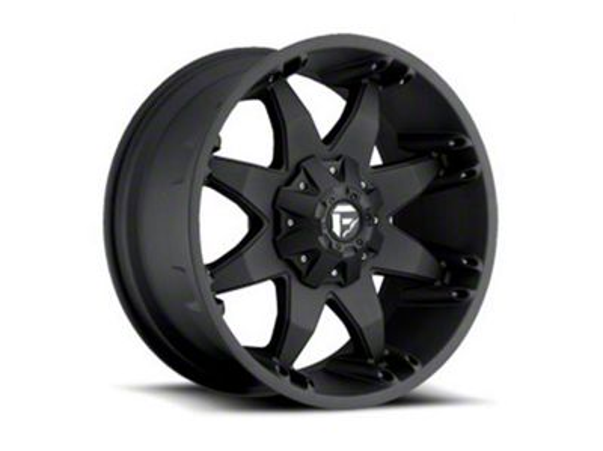 Fuel Wheels Octane Matte Black 6-Lug Wheel - 22x14 (04-18 F-150)
