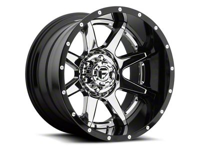 Fuel Wheels Rampage Chrome 6-Lug Wheel - 22x12 (04-19 F-150)