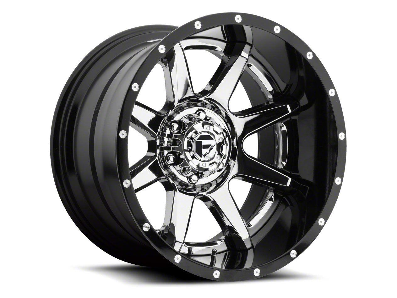 Fuel Wheels Rampage Chrome 6-Lug Wheel - 22x12 (04-18 F-150)
