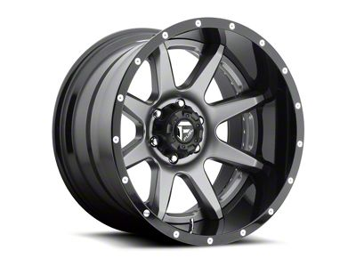 Fuel Wheels Rampage Gun Metal 6-Lug Wheel - 20x10 (04-19 F-150)