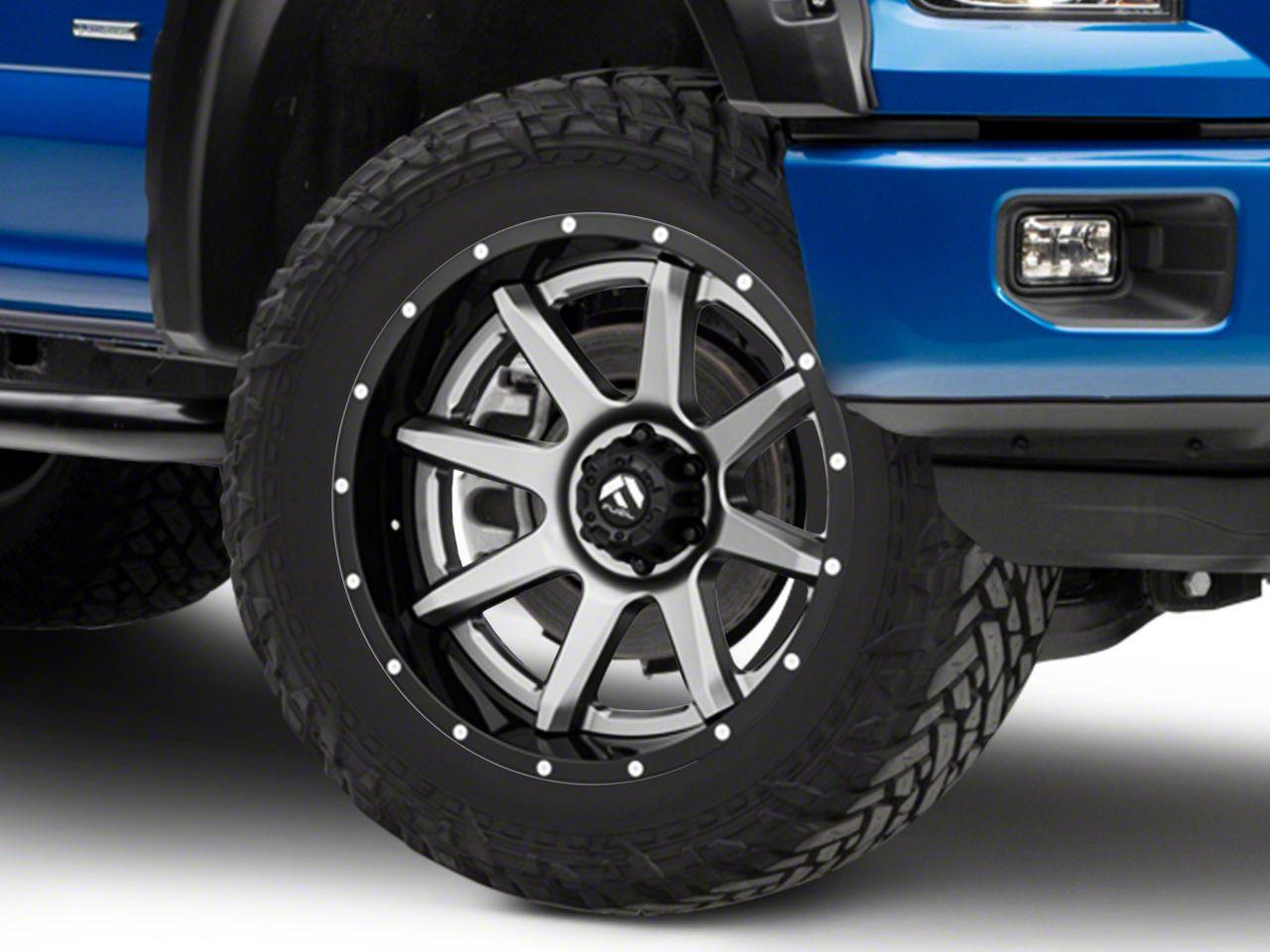 Fuel Wheels Rampage Gun Metal 6-Lug Wheel - 22x10 (04-18 F-150)