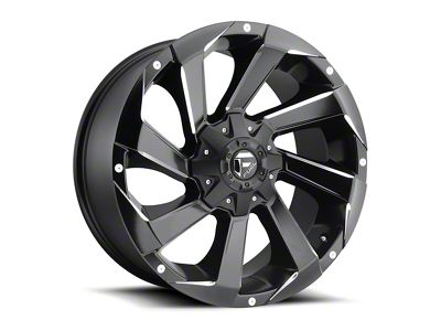 Fuel Wheels Razor Matte Black Milled 6-Lug Wheel - 17x8.5 (04-18 F-150)
