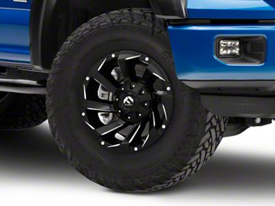 Fuel Wheels Razor Matte Black Milled 6-Lug Wheel - 17x9 (04-18 F-150)