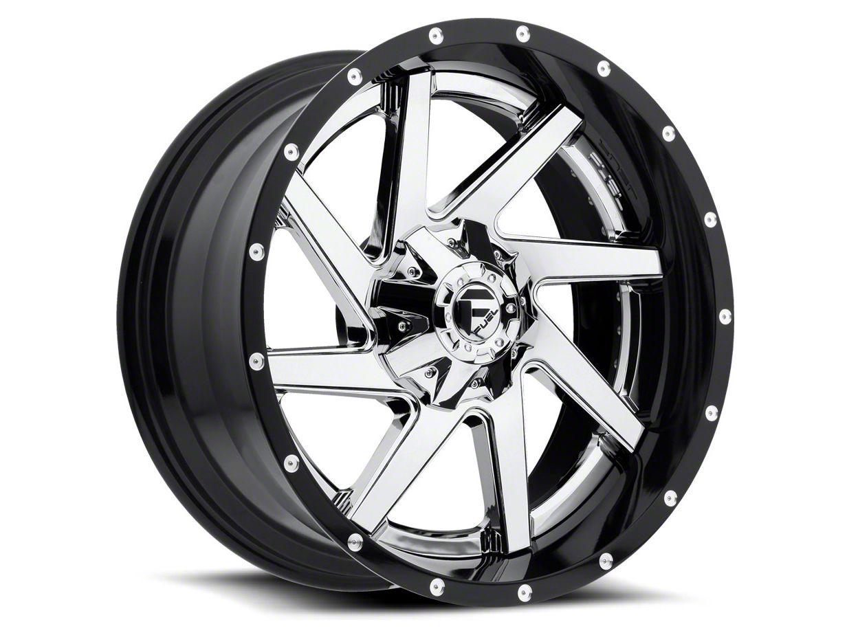 Fuel Wheels Renegade Black Machined 6-Lug Wheel - 17x9 (04-18 F-150)