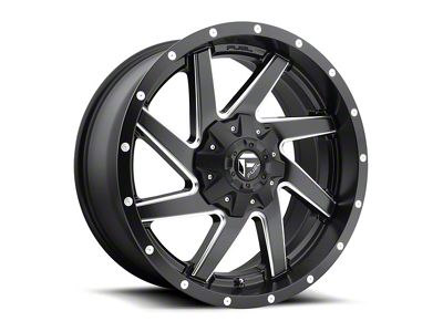 Fuel Wheels Renegade Matte Black Milled 6-Lug Wheel - 20x9 (04-18 F-150)