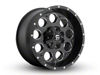 Fuel Wheels Revolver Black Milled 6-Lug Wheel - 20x10 (04-18 F-150)